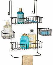 mDesign Duschkorb zum Hängen - praktische
