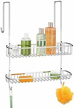 mDesign Duschkorb zum Hängen über die Duschtür