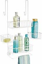 mDesign Duschregal ohne Bohren - Duschablage für