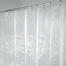 mDesign Duschvorhang - Größe: 180 x 200 cm,