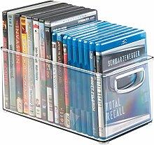 mDesign DVD Aufbewahrungsbox - DVD