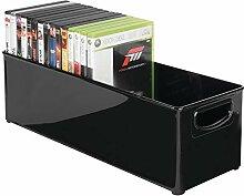 mDesign DVD Aufbewahrungssystem – Sortierbox