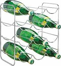 mDesign Flaschenhalter - Weinflaschenhalter aus