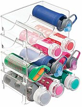 mDesign Flaschenständer - Stapelbarer
