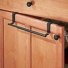 mDesign Handtuchhalter ausziehbar zum Aufhängen -
