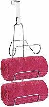 mDesign Handtuchhalter ohne Bohren - die Badablage
