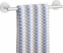 mDesign Handtuchhalter selbstklebend aus Aluminium