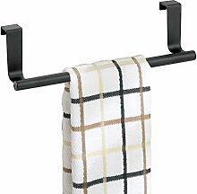 mDesign Handtuchhalter zum Aufhängen - Farbe: