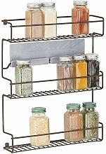 mDesign Küchenregal aus Metall –