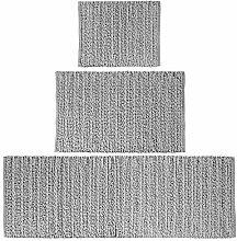 mDesign Luxus-Teppich, 100 % Baumwolle,