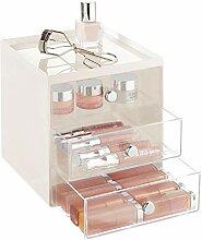 mDesign Make-up Organizer - stapelbare