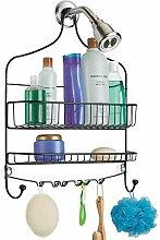 mDesign moderne Duschablage zum Hängen -