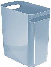 mDesign Papierkorb und Mülleimer für Badezimmer,