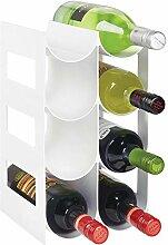 mDesign praktisches Wein- und Flaschenregal -