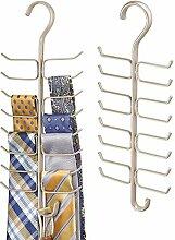 mDesign Schalbügel für den Kleiderschrank -
