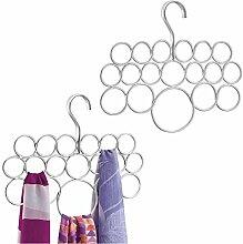 mDesign Schalhalter – 2er-Pack Schalbügel und
