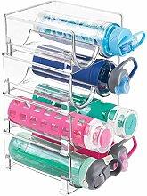 mDesign stapelbares Wasserflaschenregal für
