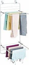 mDesign Wäscheständer zum Hängen -