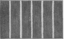 mDesign Weicher Mikrofaser-Polyester-Teppich,