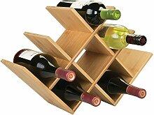 MDESIGN Wein- und Flaschenregal – schönes