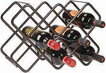 mDesign Wein- und Flaschenregal - schönes