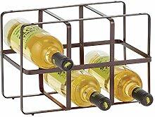 mDesign Wein- und Flaschenregal – Weinregal mit