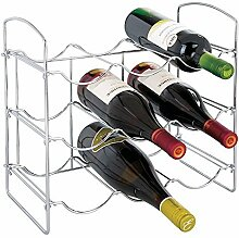 mDesign Weinregal - Weinflaschenhalter aus Metall