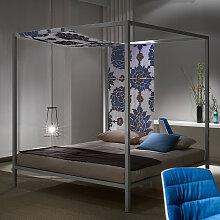 MDF Italia ALUMINIUM BED Designer Himmelbett