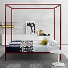 MDF Italia ALUMINIUM BED Himmelbett, lackiert