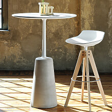 MDF Italia ROCK TABLE Bistrotisch Ø 80 cm,