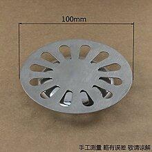 mdrw-accessoires Badezimmer-Vergrößern der Reinigungsmittel für Rohre von Fußbodenölen auf dem Tablett rund 10cm der Reinigungsmittel für Rohre von Fußbodenölen Decke Verschraubungen Wasserdich
