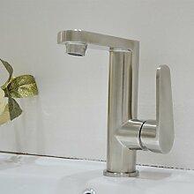 MDRW-Badezimmer-Accessoires einziges loch waschbecken wasserhahn, 304 edelstahl sanitär - hahn, warme und kalte becken wasserhahn