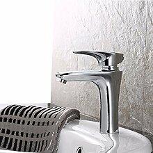 MDRW-Badezimmer-Accessoires heiß und kalt, hahn, kupfer, warmen und kalten waschbecken wasserhahn aufgedreht, toilette, waschbecken einzigen loch wasserhahn