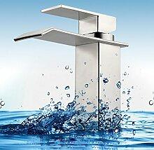 MDRW-Badezimmer-Accessoires waschbecken, warmen und kalten wasserhahn, edelstahl - warmen und kalten wasserhahn, bad wasserfall wasserhahn