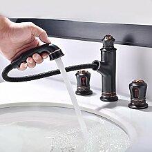 MDRW-Badezimmer Accessoires WasserhahnKupfer Tippen Sie Auf Tippen Sie Auf Tippen Sie Auf Einzelne Bohrung Mischen