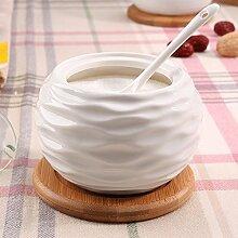 MDRW-Haushalt Küche Accessoires Küche Würzen Keramik Und Glas Würzen Würzen Von Dosen Dosen Von 500 G Single Salz B