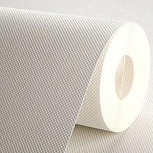 MDRW-Non Woven Tapeten Pure White Dick Non Woven Wallpaper Wallpaper Mit Modernen Minimalistischen Plain E?0.53*10M?±3%