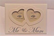 Me & Mum Bilderrahmen Ideal für Mütter Tag Twin