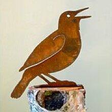 Meadowlark Bird Silhouette