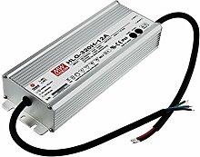 Mean Well HLG-320H-12A LED-Schaltnetzteil, 12Vdc / 22A / 264W / IP65 / MM- u. F.-Zeichen