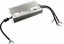 Mean Well HLG-600H-12A Einbau-Netzteil 12Vdc / 40A / 480W / IP65 / MM- u. F.-Zeichen