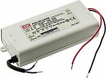 Mean Well PCD-60-2400B Einbau-Netzteil 15-25Vdc / 2,4A / 60W / IP30 / MM- u. F- Zeichen / Serie B mit Dimmfunktion
