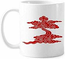 Meaning Auspicious Beautiful Life Tasse Keramik