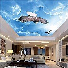 Meaosy 3D Lebensechte Tiere Adler Fliegen In The