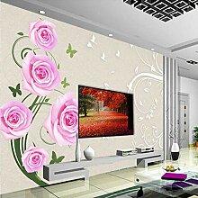 Meaosy 3D Silk Tapete Für