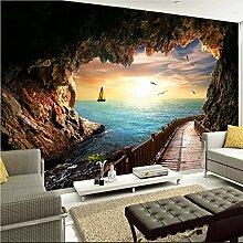 Meaosy 3D Wandbild Tapete Für Wand