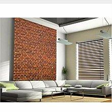 Meaosy Benutzerdefinierte Retro-Tapete, Brick Wall