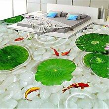 Meaosy Küche Custom 3D Boden Wandbild Tapete