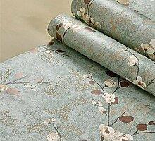 Meaosy Nonwoven Pflaume Blume Amerikanische Antike Tapete Wohnzimmer Schlafzimmer Tv Sofa Hintergrund Wand Tapeten