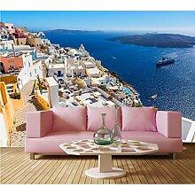 Meaosy Tapete Für Wände 3D, Griechenland Küste